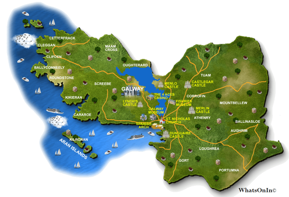 Galway Map